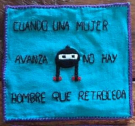 Embroidered Square (Spanish)